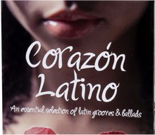 "Cover of Compilation ""Córazon Latino"""