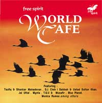 "Cover of Compilation ""Free Spirit World Cafe 1"""